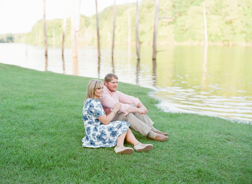 Beautiful Lakeside Engagement