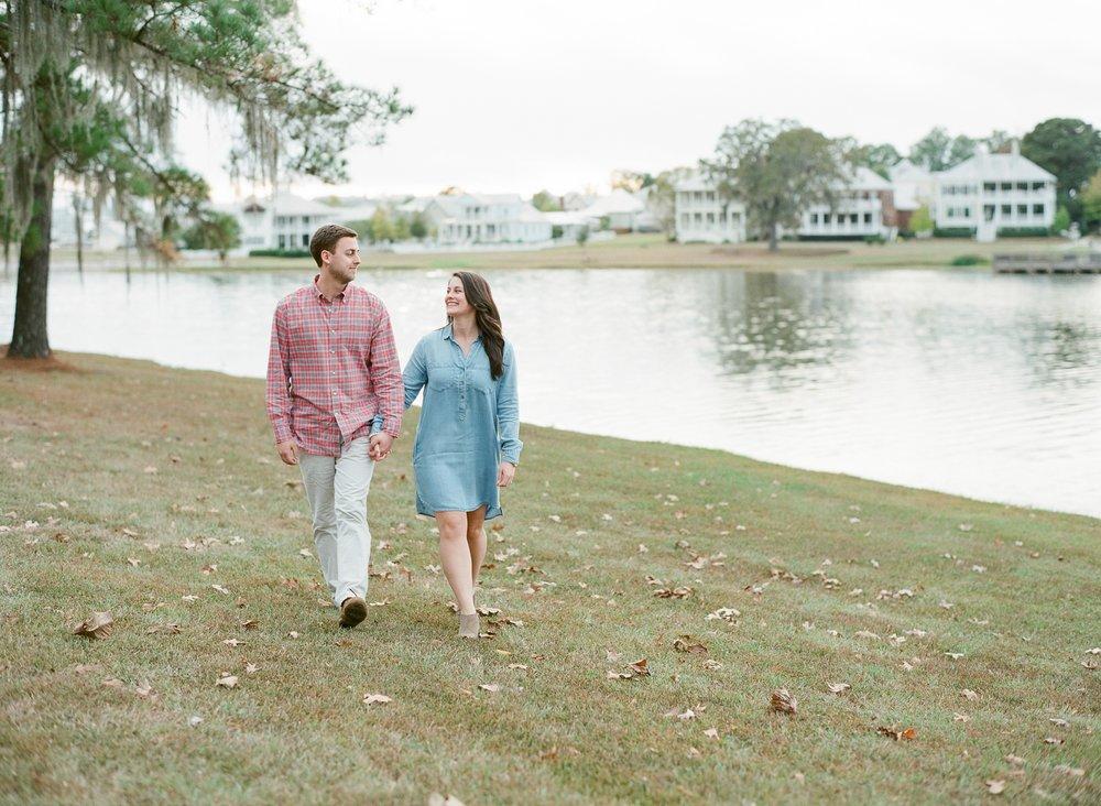 Fine Art Film Wedding Photography, Lakeside Engagement Session
