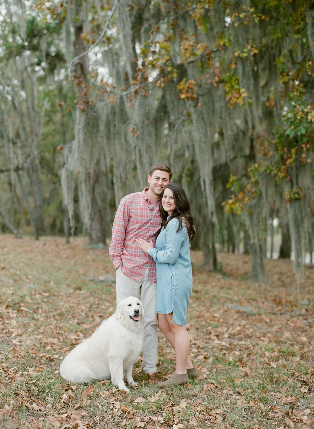 Engagement Session Pictures with Dog