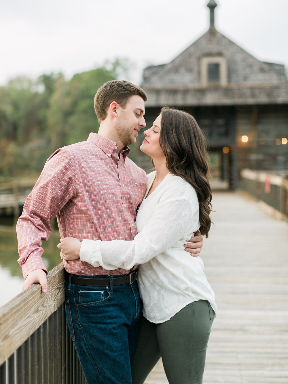 Lake Engagement Session in the Fall