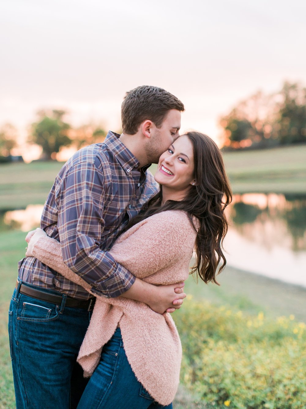 Gorgeous Sunset Engagement Session