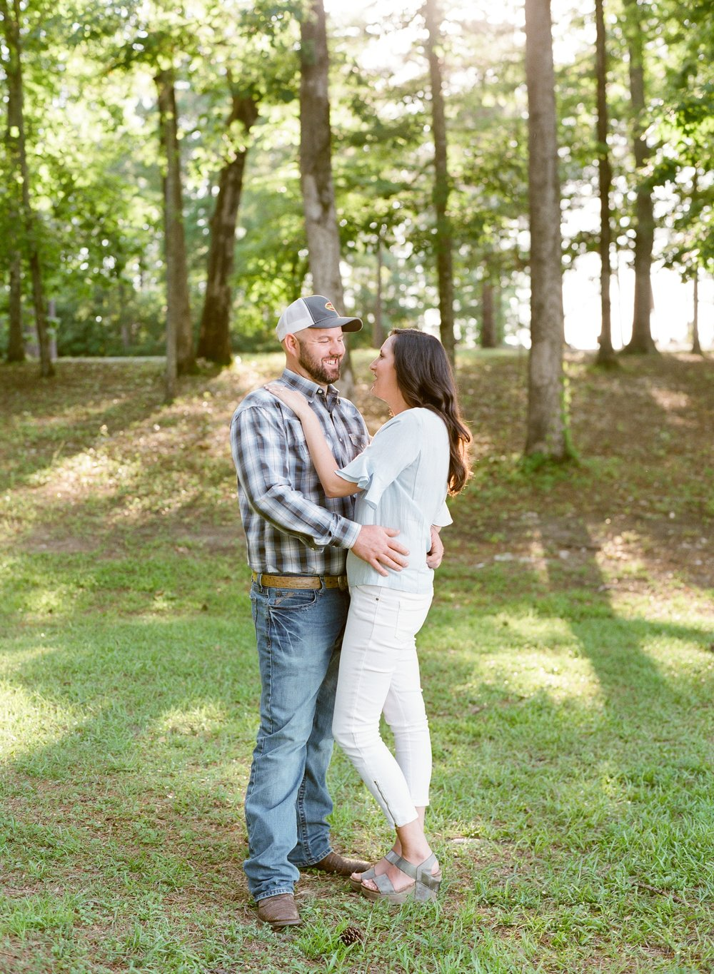 Beautiful Engagement Session at Lake Martin