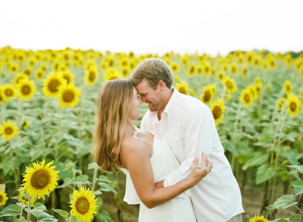 Jessie Barksdale Photography, Romantic Engagement Session on Film