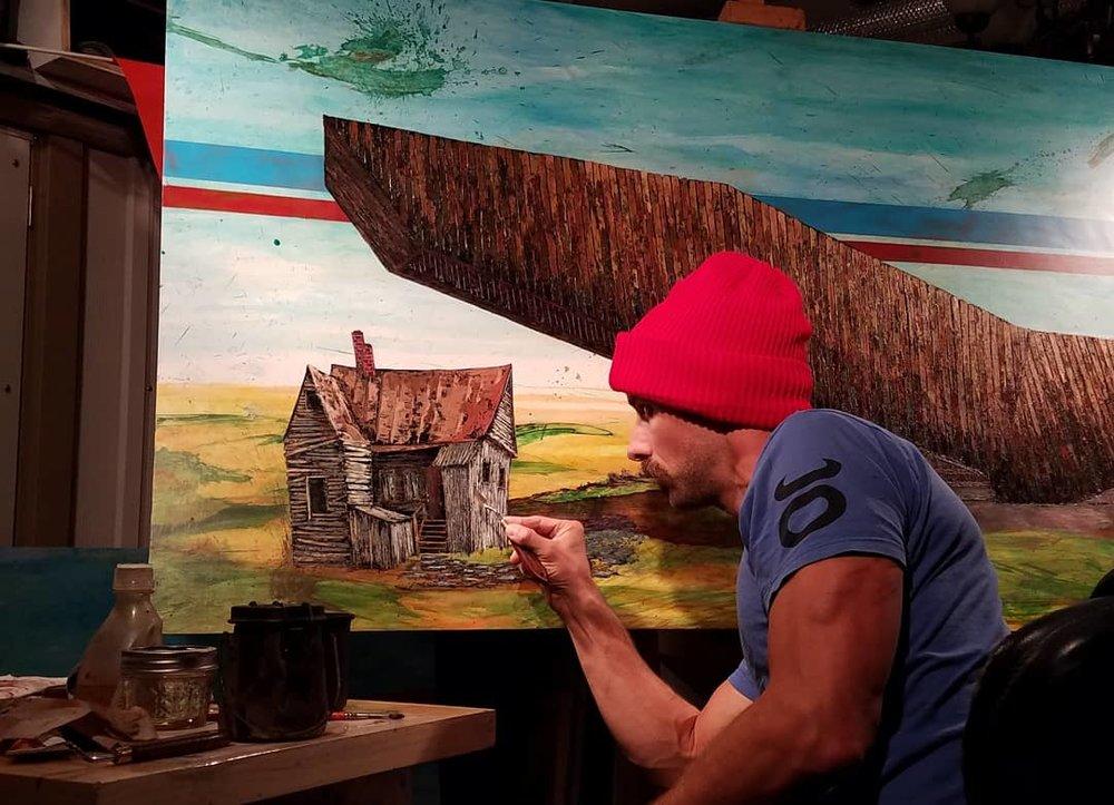 Eye Barn II in process