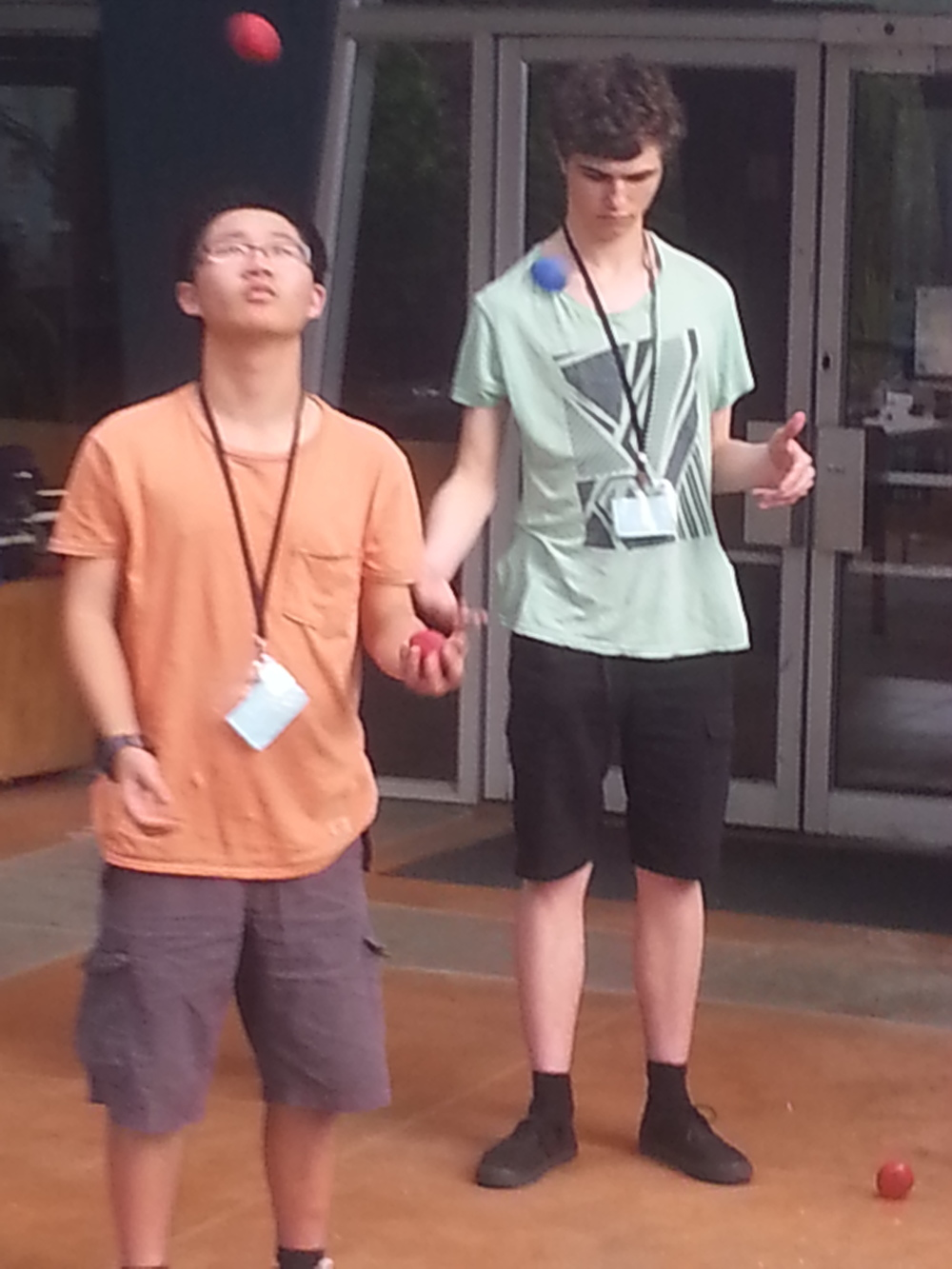 Hao Jia (left) and Johnny Mottershead (right)