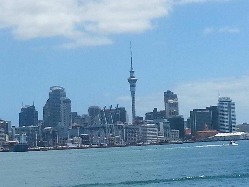 Close up of Auckland City