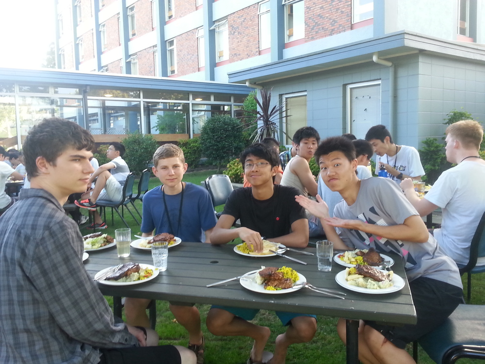 (from left: Johnny Mottershead, Keiran Lewellen, Prince Michael Balanay, Chris Wan)