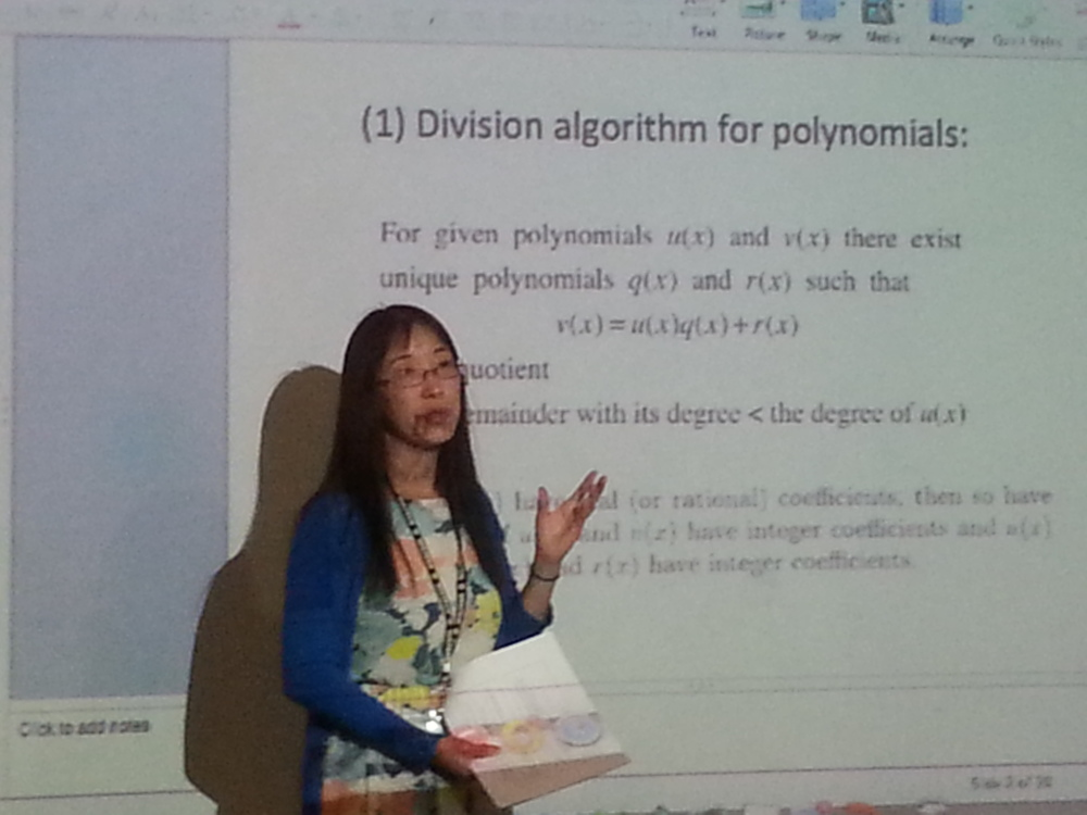 May Meng covering the polynomials for the Juniors