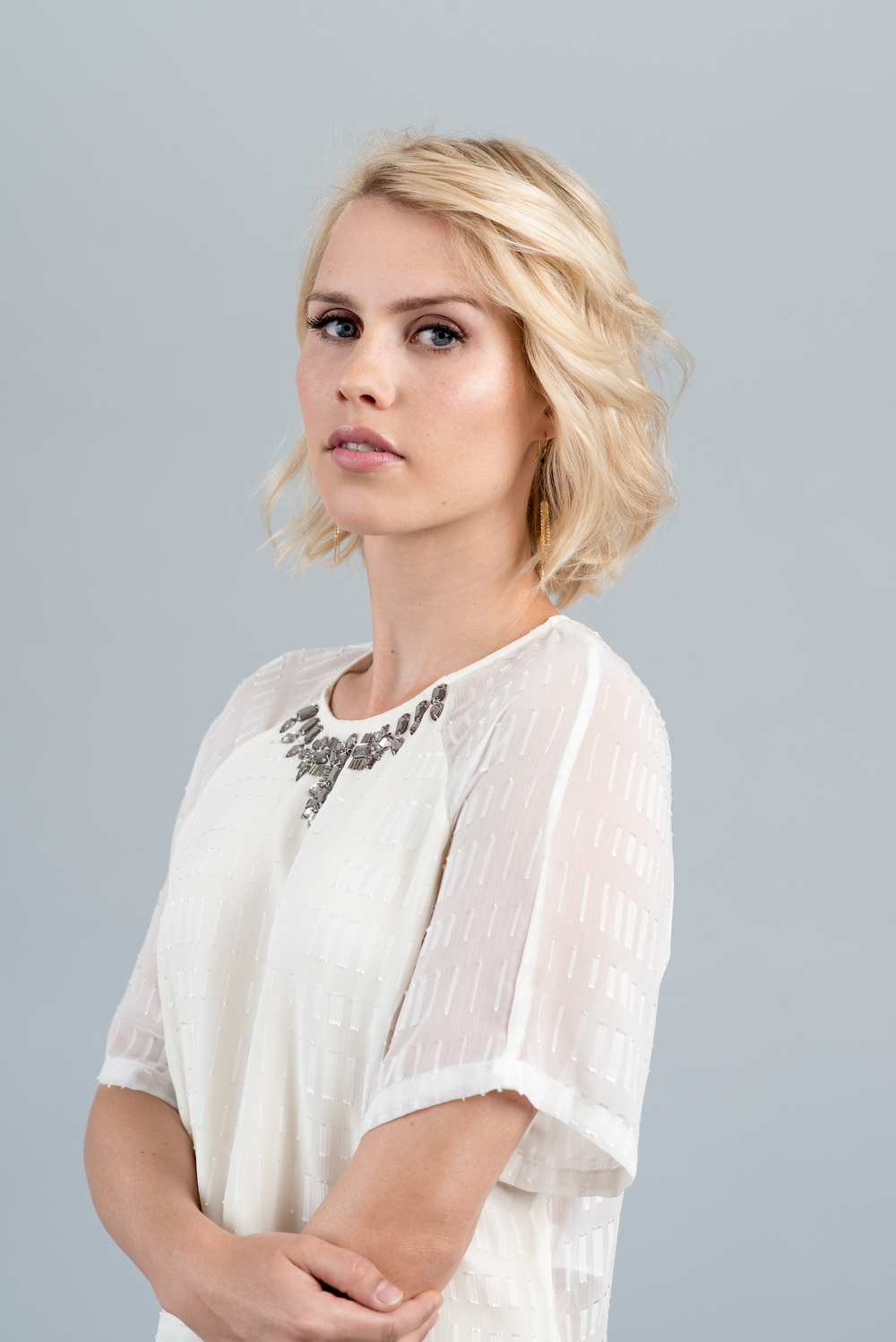 "Claire Holt (""Vampire Diaries"") for Zooey Magazine"