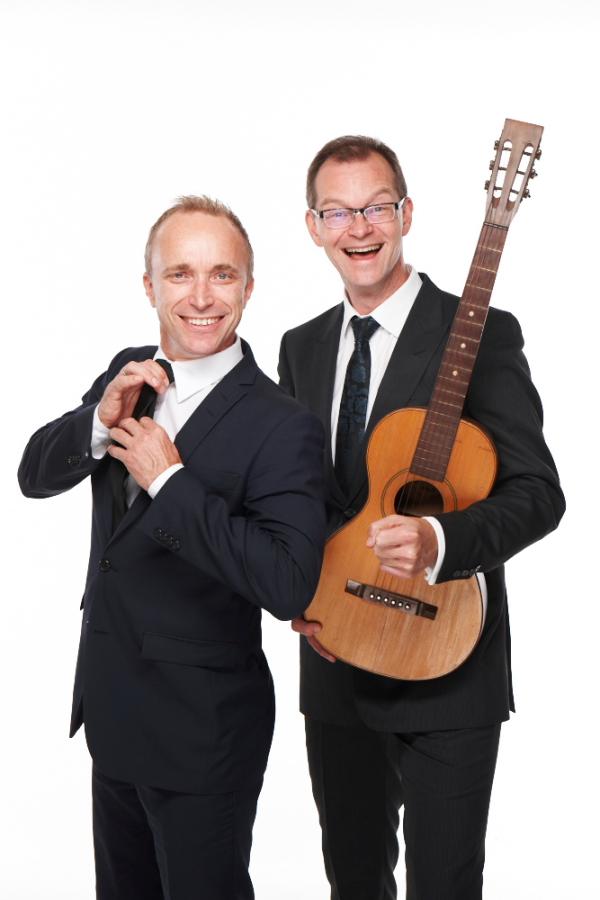 Åsleik Engmark og Jon Rørmark (Foto: Stand UP Norge)