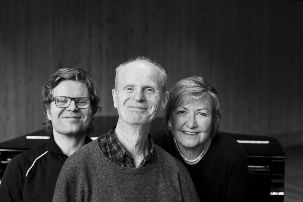 ROSE: Anders Røine, Gabriel Fliflet og Kirsten Bråten Berg. FOTO: Vidar Herre