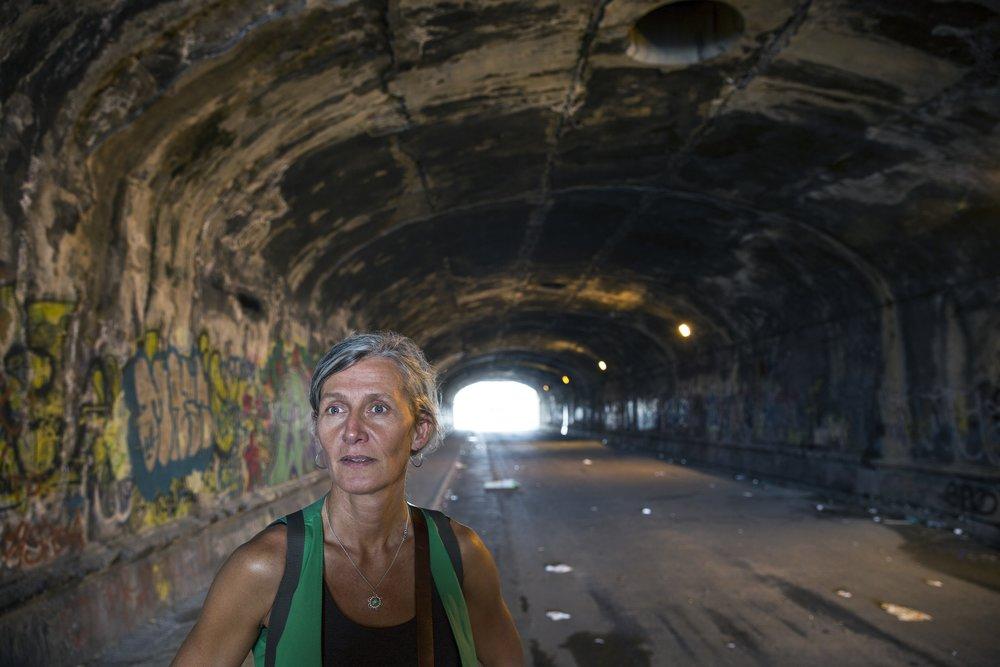 Kristin Sørsdal - omsetjaren av Napoli-kvartetten til nynorsk. FOTO: Jan Lillebø