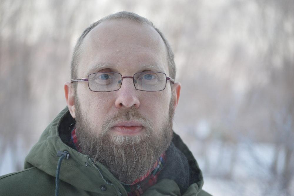 Forfattar Meelis Friedenthal. Foto: Bokbyen Skagerrak