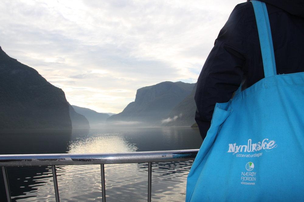 Nynorske litteraturdagar ombord i Vision of The Fjords i Nærøyfjorden. Bli med du også!