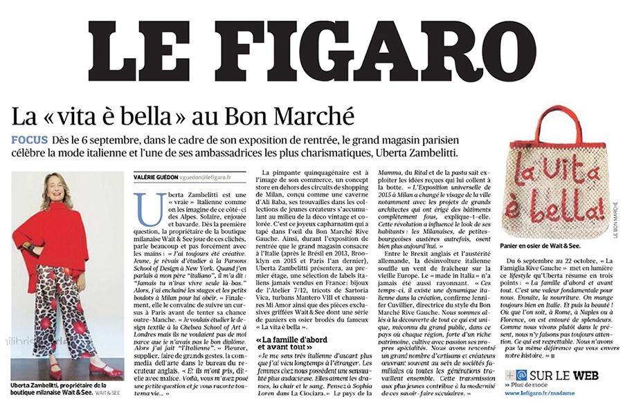 Le Figaro - Sept 2017