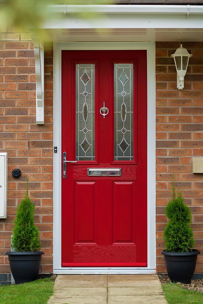 Red-composite-door.jpg & Composite Doors u2014 JUST GLASS