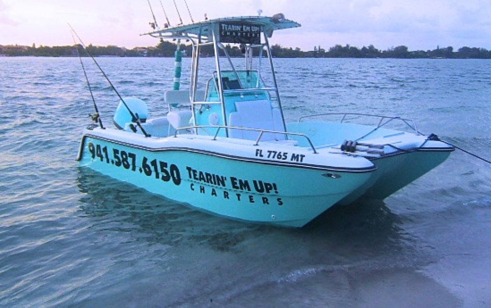 We're Tearin' Em Up! Fishing Charters in Siesta Key, Lido Key, Longboat Key & Sarasota Florida