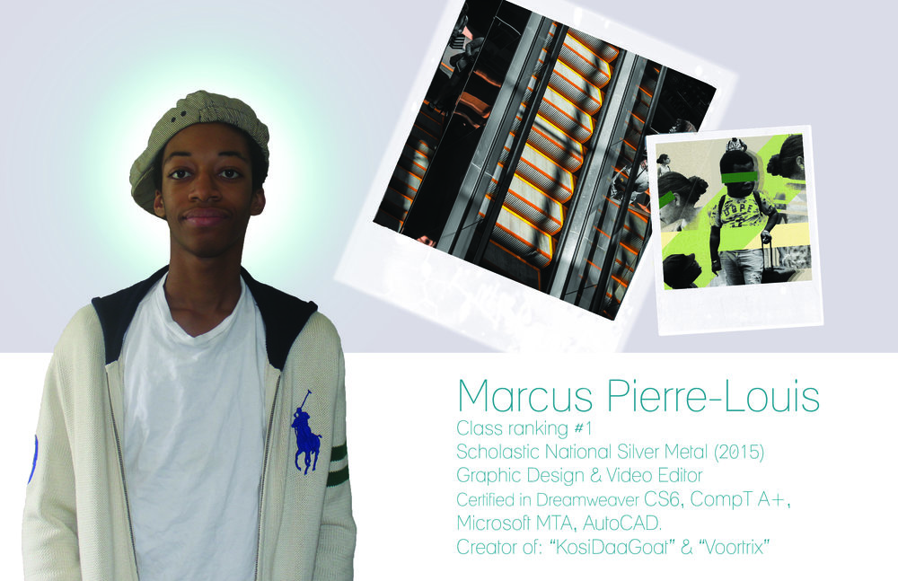 Marcus Pierre Louis, Junior 2017