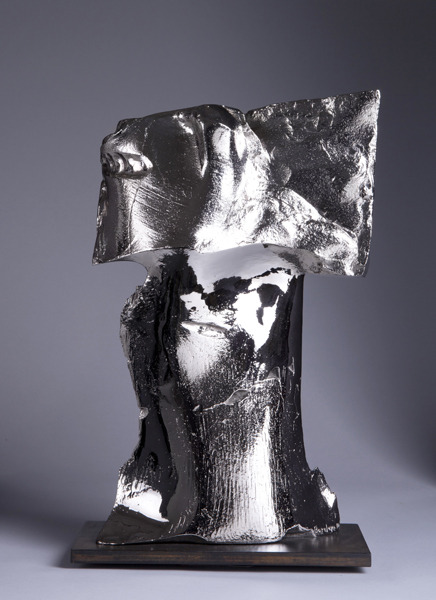 David , 2010 Cast bronze, polished and nickel plated 5 x 11 x 18 inches