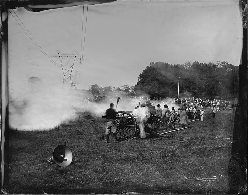 """Antietam #3"" from the series Civil War , 2012 Archival digital ink jet print 40"" x 50"""
