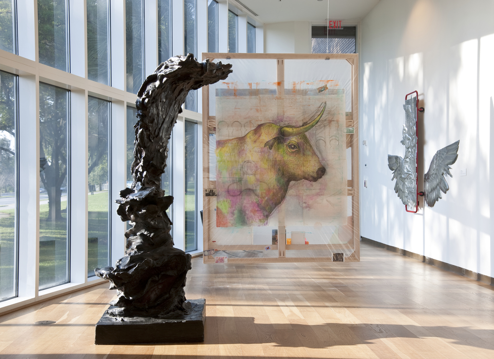 Bull,  2015 Installation view at the Orlando Museum of Art