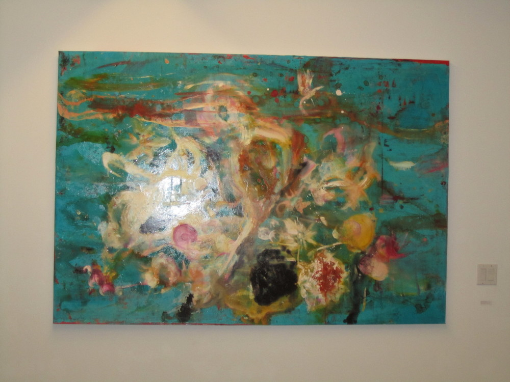 Catherine Howe Bouquet (Rusty Face), 2011 Oil On Canvas 56x82 inches