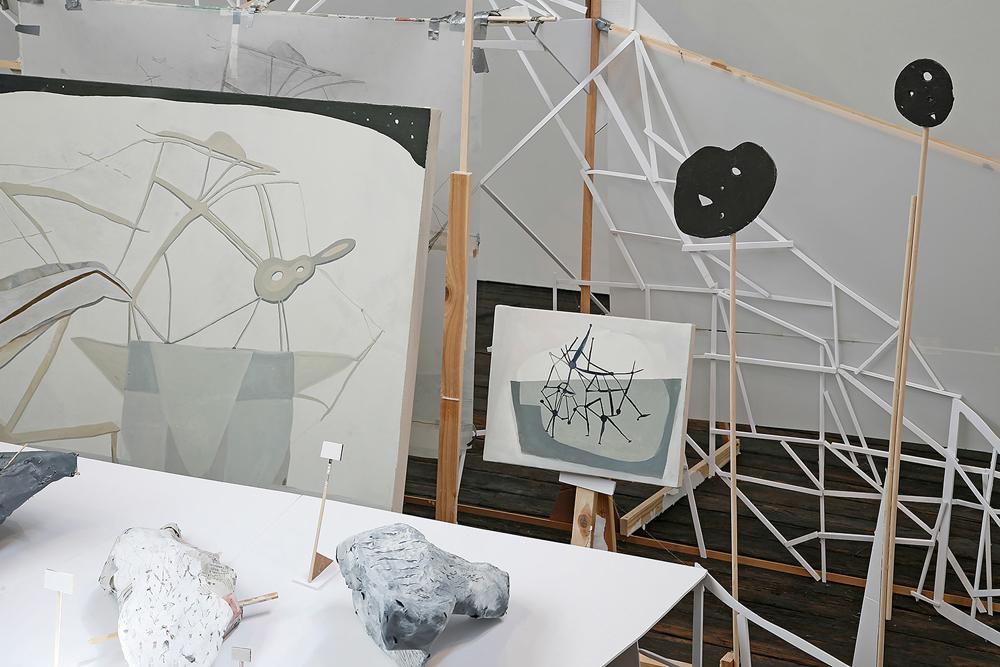 Seeking Higher Ground , 2016 Installation view Suyama Space