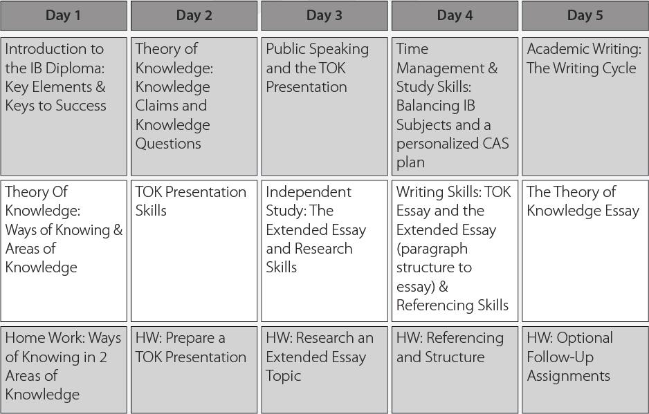 ib english paper 2 essay structure