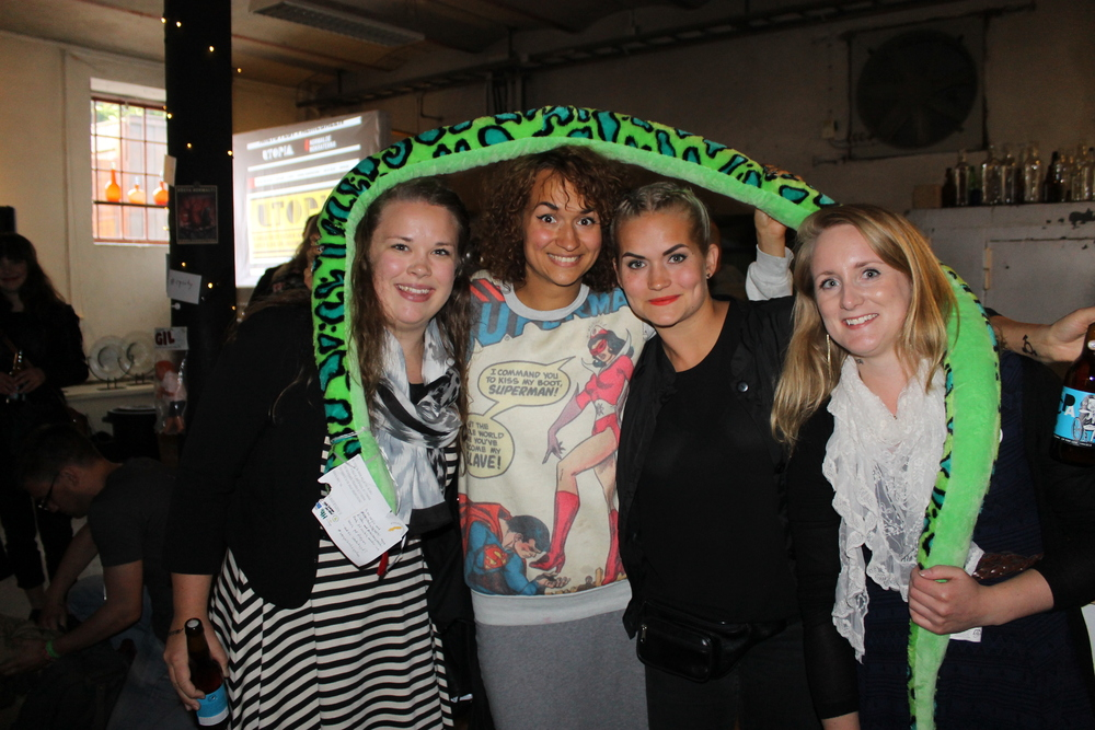 Sara och jag fick träffa Bianca och Tiffany med #storstadsnORMEN
