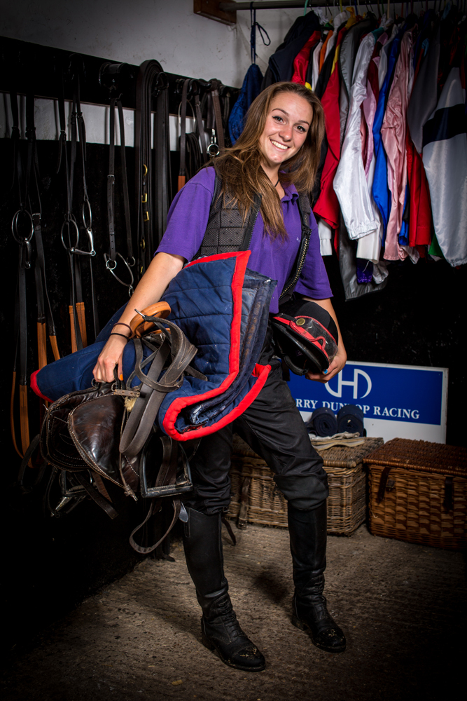 Anna Wotton Anna is our youngest member of staff who gained most of her riding experience on the pony racing circuit in Devon. She has a talent for being able to sleep anywhere which is very useful when travelling horse's long distance to France!