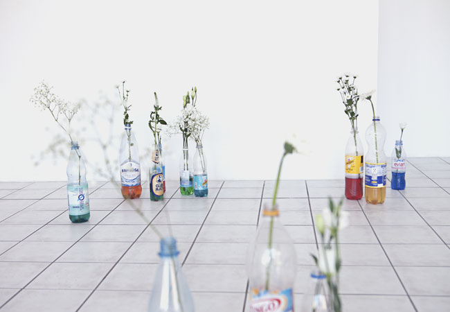 Mia Goyette, Antifreeze (Fortified Flower Vases), 2012-2014