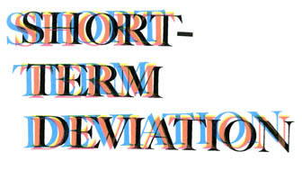 Short-Term Deviation - September 23 - October 22, 2010