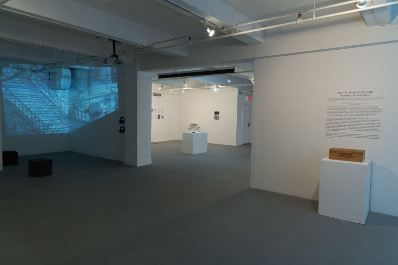 Installation view of A Wicked Problem