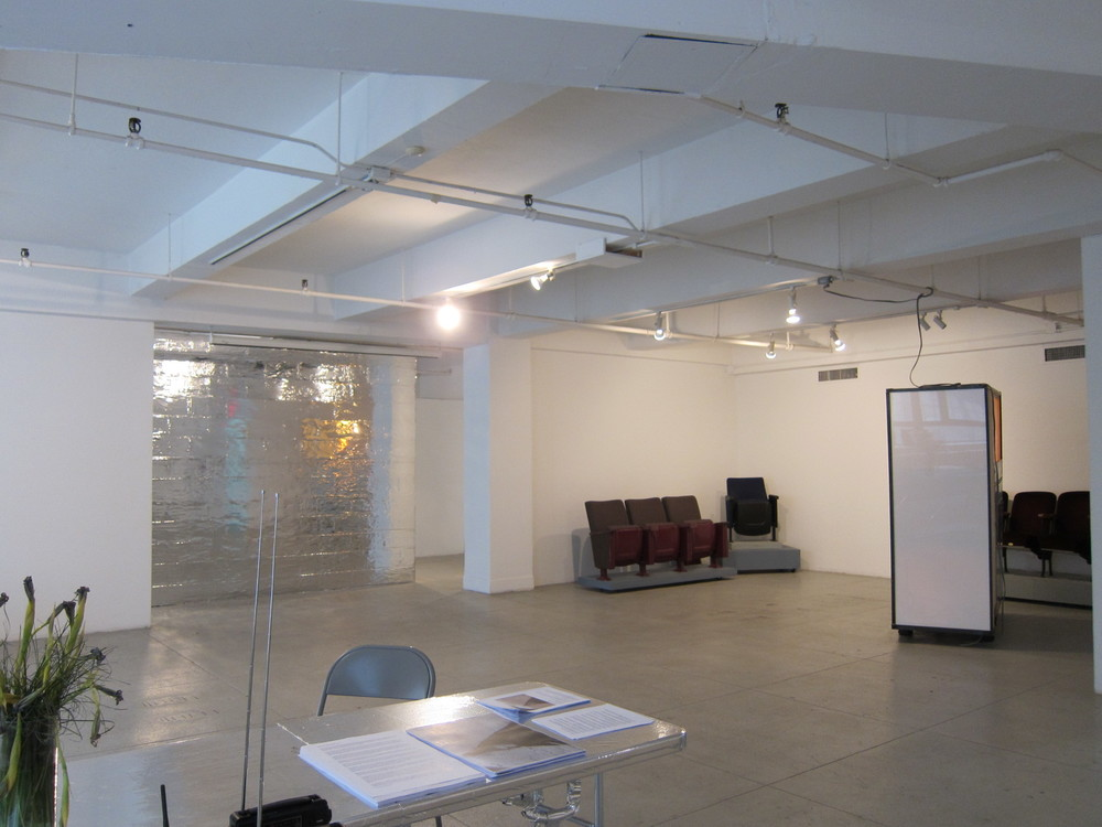 Installation view of Failing to Levitate