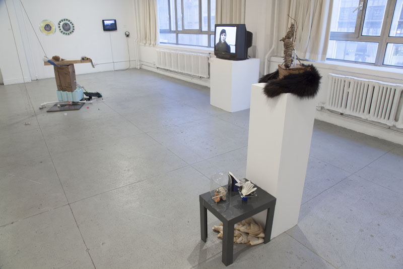 Installation view of A Necessary SHIFT