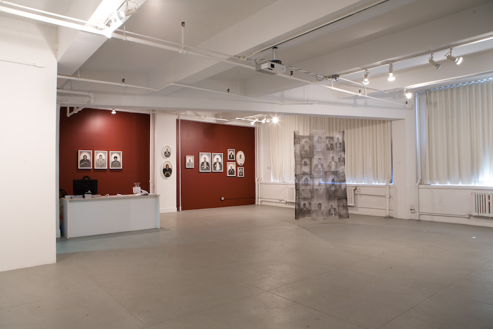 Installation view of Post Memory