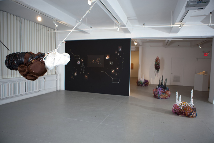 Installation view of Common Jive