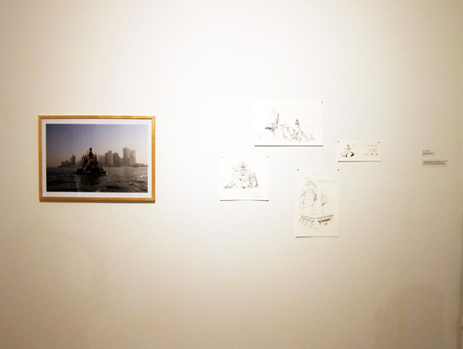 Installation View of Seaworthy