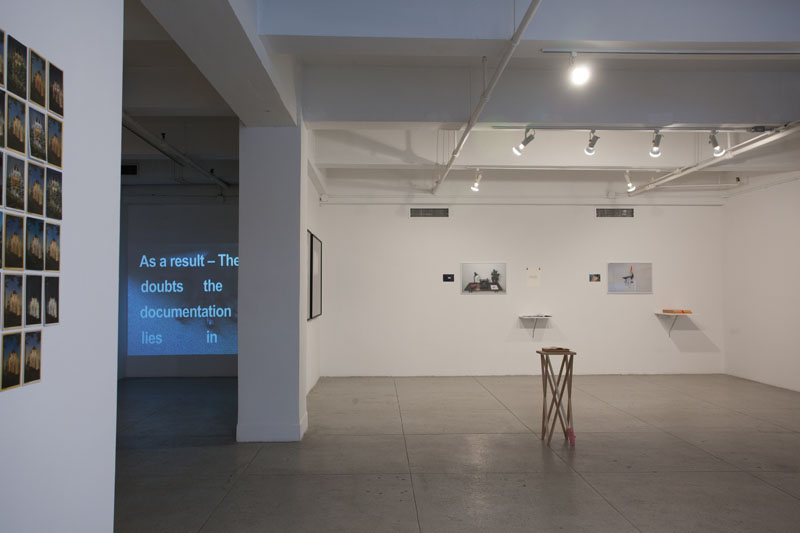 Installation view of Last Year at Marienbad Redux
