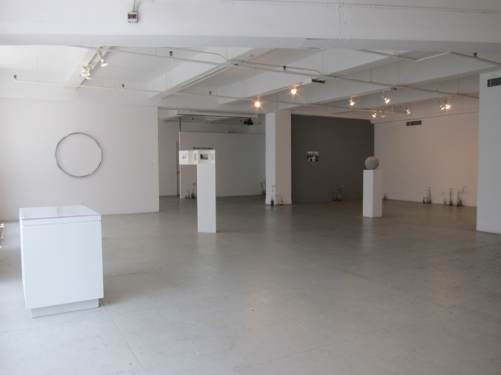Installation view of Several Circles