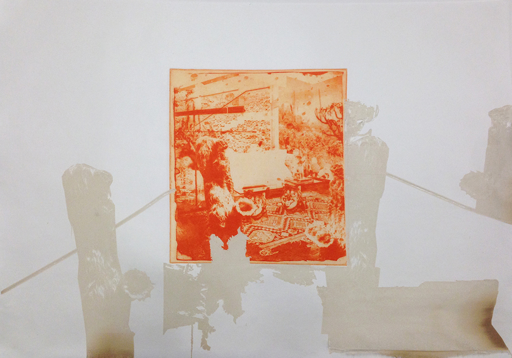 Carolyn Hulbert ,  Untitled 01  2015, Photogravure