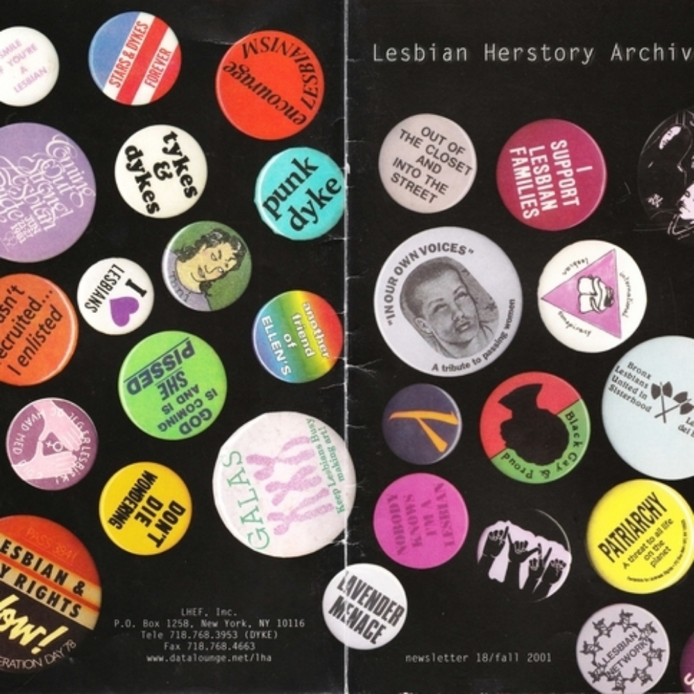Lesbian Herstory Archives: Graphic Activism Wednesday, March 2, 2016; 6-8PM