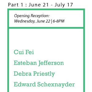 SIP Fellowship Summer Show: Part I Wednesday, June 22, 2016; 6-8PM