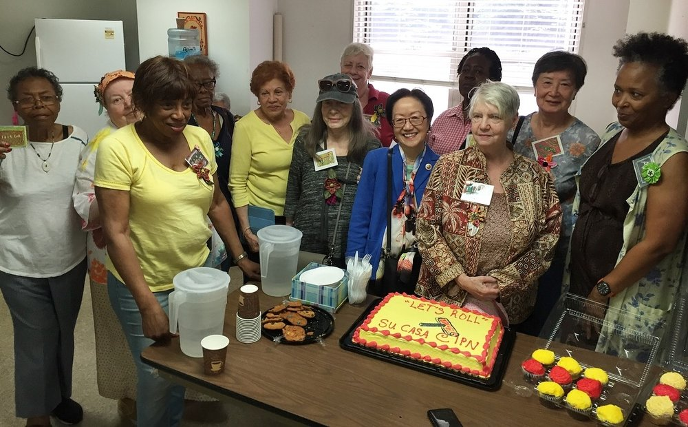 Art Day at IPN Greenwich House Senior Center   June 21, 2018