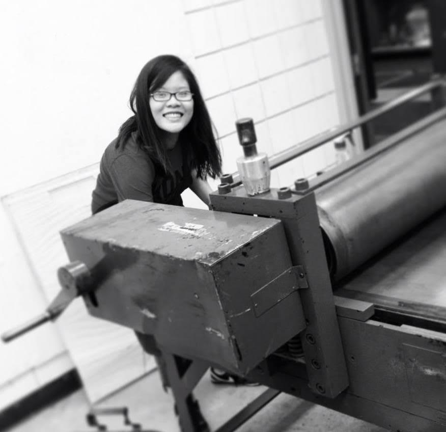 Anh Ta , Monitor since 2018       Anh Ta is an artist from Hanoi, Vietnam. She received her BA in Studio Art from Augustana University and her MFA in Printmaking from Ohio University. Besides her studio work and working with other artists, Anh has brought her artistic expertise to various settings including design firms, cancer hospital, orphanage school, private school, and university classes. Anh is well versed in traditional printmaking processes, with strong emphasis in intaglio techniques. She has exhibited widely within and outside the United States.