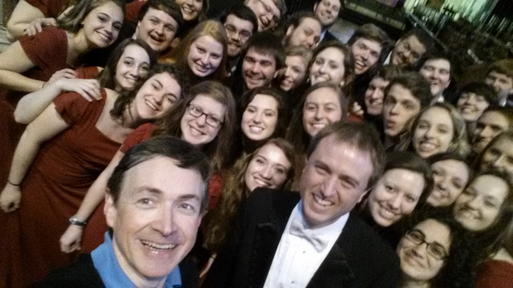 Union University Singers conducted by Dr Chris Matthews