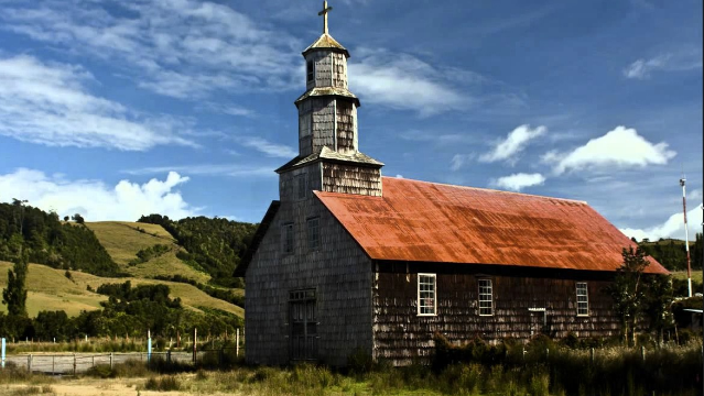 Jesuits Church, Chiloe, Chile