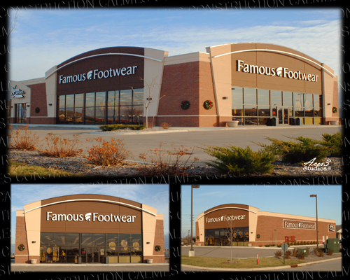 Retail Construction for Famous Footwear