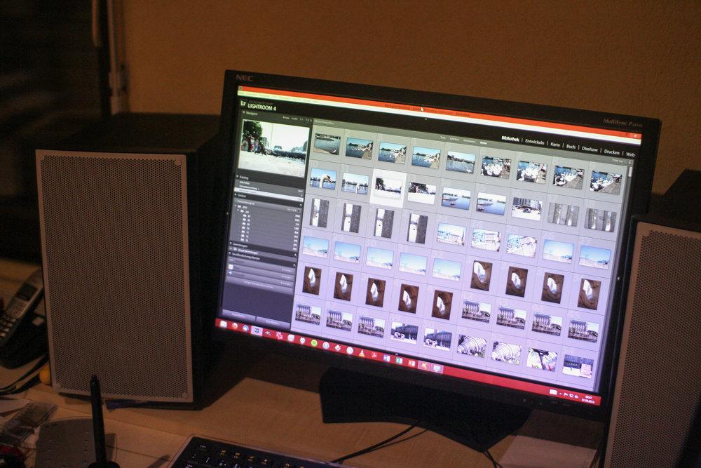 2013 | Ganz altes Monitor-Setup, Zuhause