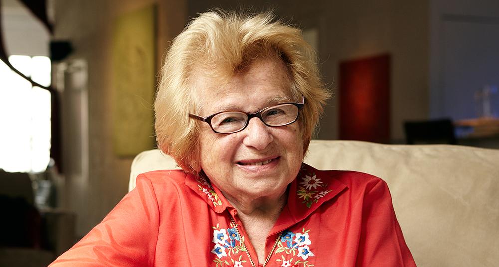 Dr. Ruth.